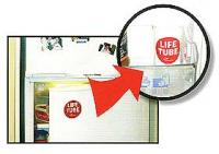 Life Tube in Fridge