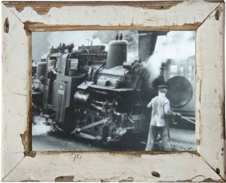 Picture of old train